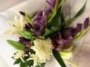 和花の花束 -菊を入れて-