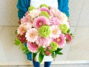 【happy!!!】 Bright pink
