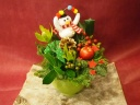 Holiday arrange (snowman)