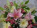 大好き!!オリエンタルリリーの ピンクの花束