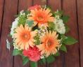 母の日「ガーベラアレンジS」オレンジ