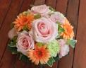 母の日「パステルアレンジL」ピンク/オレンジ