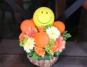 フラワー&バルーンアレンジ「ビタミン・スマイル」