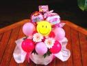 母の日フラワー&バルーン「スマイル・キャンディー」