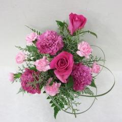 【母の日】カーネーションとバラのアレンジメント