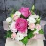 ピンクのバラのアレンジメント FR2308