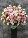 ピンク系アイアンスタンド花 FR2309