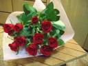 赤いバラ~花束~