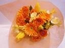 春のオレンジブーケ