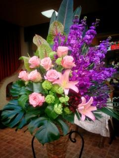御祝いコーンスタンド花 セリーヌ