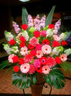 御祝いコーンスタンド花 シアラ