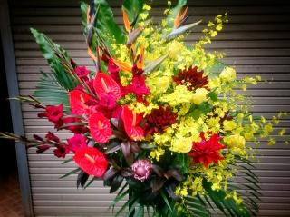 御祝いスタンド花 ビビッドスタイル