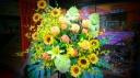 御祝いスタンド花 サマ―タイプ