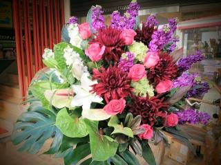 Glamorous 御祝いスタンド花