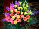御祝いスタンド花 イエローバイパー