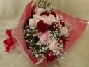 幸せを運ぶ花束