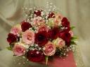 想い出の薔薇の花束