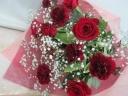 【母の日】深紅の花束