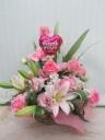 【母の日】ピンクのバルーンアレンジメント
