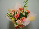 【母の日】オレンジの花束