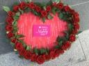 HANASHO赤バラのオープンハート