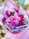 springフラワーギフトボックス~青・紫~
