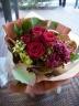 薔薇とカーネーションの大人ブーケ
