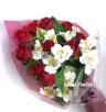 赤薔薇の花束/ B087