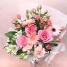 ピンク色の花束 /B160