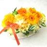 幸せを運ぶ黄色系の花/ P323