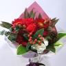 可愛い赤花束 /B084