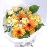 ビタミンカラーの花束/B107