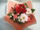 母の日アレンジ【レッド&ピンク】S