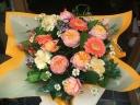 母の日バスケットアレンジ(オレンジ)L