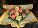 母の日バスケットアレンジ(オレンジ)M