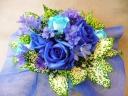 幸せを呼ぶ ブルーのバラ サムシングブルー