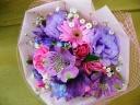 永遠の美 紫とピンクのコラボレーション
