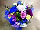 青&紫 品良く 豪華 可憐に ステップアップ!