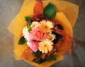 蝶々付き おしゃれ和紙で包んだオレンジファンタジー