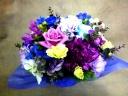 青&紫 品良く豪華 可憐にステップアップ!
