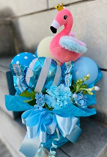 Lovely Flamingo☆☆blue☆☆★