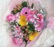 ピンク系おまかせ花束