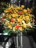 黄色・オレンジ系スタンド花