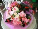 ピンク!花束