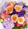 【豪華】Orange×Purple bouquet