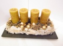 Candle Arrange Mustard