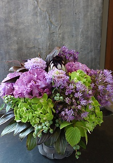 Purple Green Arrangement