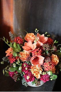 Deep Orange Arrangement