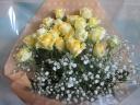 【黄色バラ 】花束