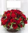〈〈NEW!!〉〉赤バラで豪華なアレンジ♪